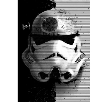 Affiche Métal Startrooper