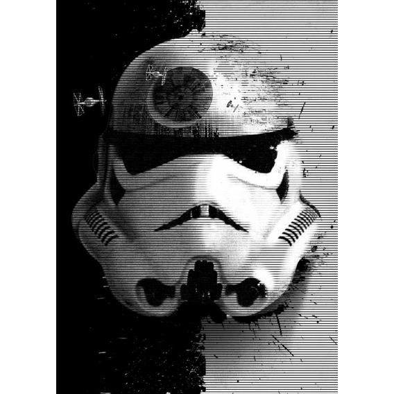 Poster Stormtrooper Contraste