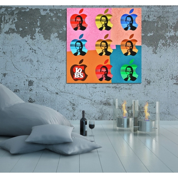 Steve Jobs Tableau Pop-art