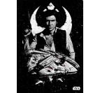 Poster Star Wars Millennium Falcon