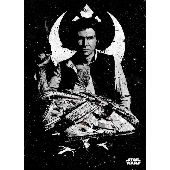 Poster Star Wars Faucon Millenium
