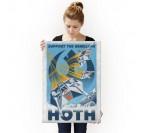 Affiche Métal Star Wars Rebellion