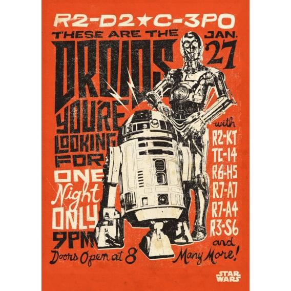 Star Wars Droïds Poster