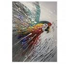 Peinture Animaux Perroquet Coloré