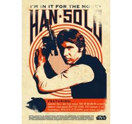 Poster Rétro Han Solo