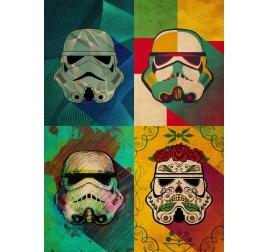 Pop Art Storm Trooper Poster