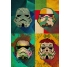 Pop Art Storm Trooper Poster