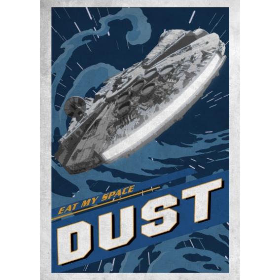 Affiche Star Wars Vitesse Lumière