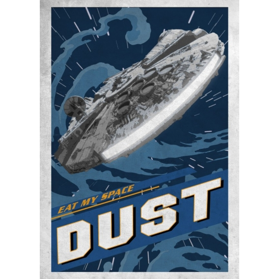 Light Speed Star Wars poster