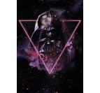 Galaxy Darth Vador poster