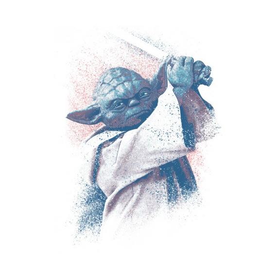Master Yoda Metal Poster