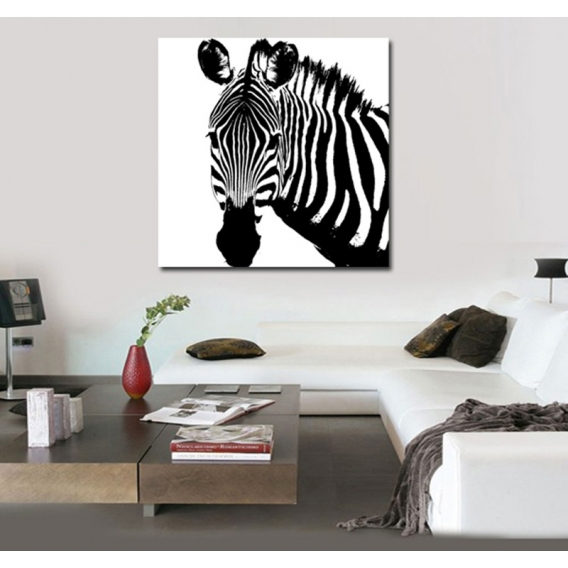 Zebra Deco Canvas