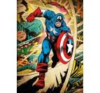 Affiche Rétro Captain America