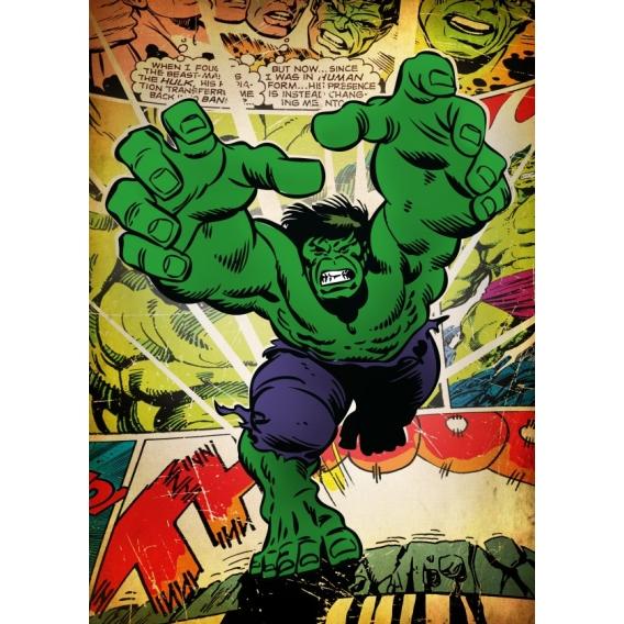Poster Rétro Hulk