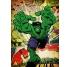 Hulk Retro Poster