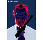Bond Metal Wall Poster