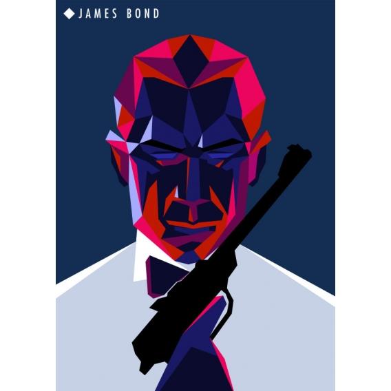 Bond Metal Wall Poster