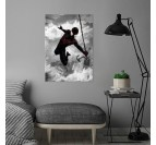 Affiche Murale Black Spiderman