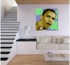 Barack Obama Tableau Moderne