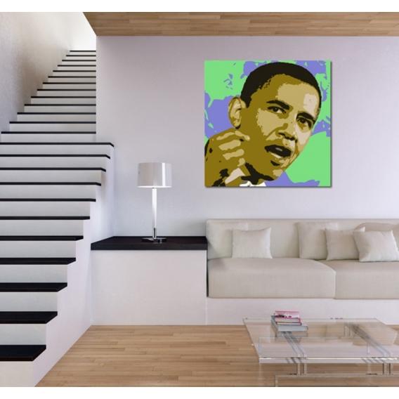 Tableau Moderne Barack Obama