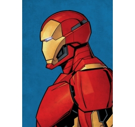 Poster Murale Gold Iron Man