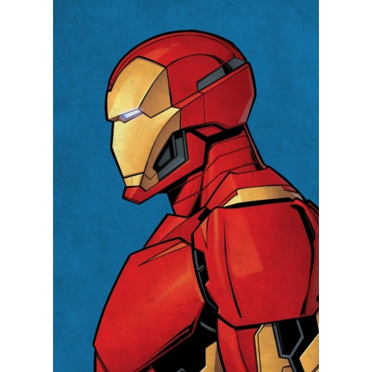 Gold Iron Man Wall Poster Artwall And Co