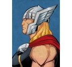 Metal Poster Hammer Thor