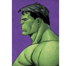 Green Hulk Marvel Poster