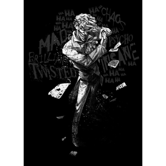 Dark Joker Wall Poster