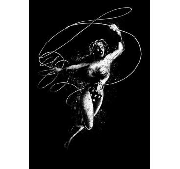 Poster Métal Wonder Woman