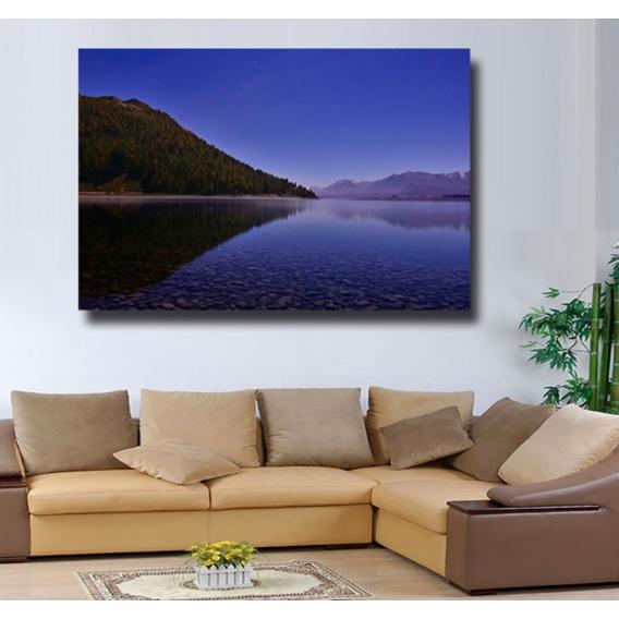 Mountain Lake Tableau Paysage