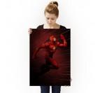 Poster Metal Flash Gordon