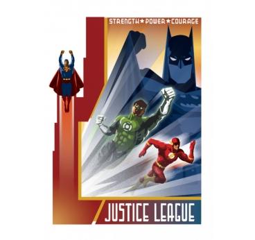 Poster Vintage Justice League