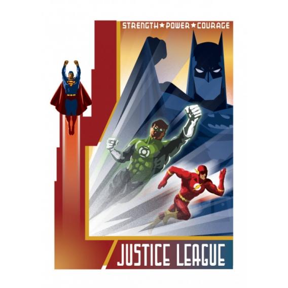 Justice League Vintage Poster