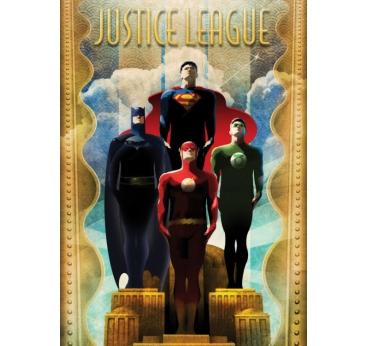 Poster Rétro Justice League