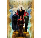 Justice League Retro Poster