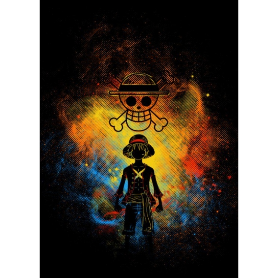 Poster Metal Manga Pirate