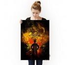 Poster Naruto Metal