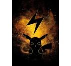 Poster Métal Pikachu