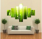 Bamboo Nature Art Print