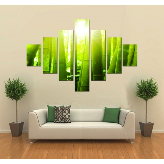 Bamboo Nature Art Print