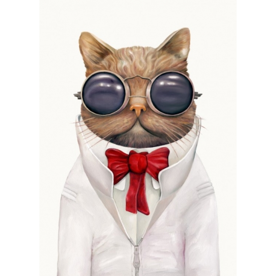 Original Gentleman Cat Poster