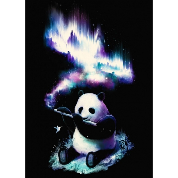 Music Panda Collector Poster