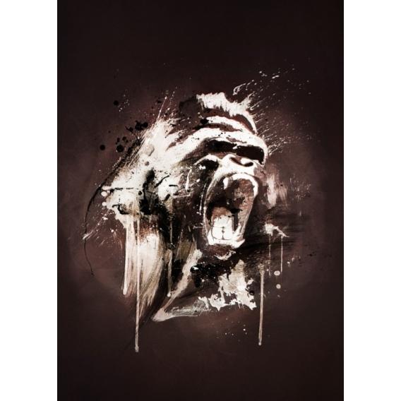 Gorilla Metal Poster