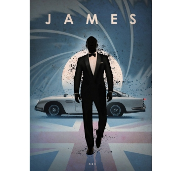 Poster Original James Bond DB5