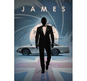 Poster Original James Bond DB5