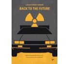 Poster Metal Delorean