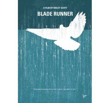 Poster Métal Blade Runner