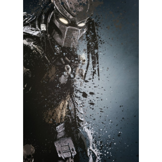 Poster Métal Unique Predator