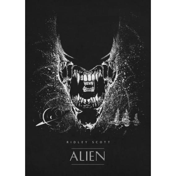 Affiche Métal Film Alien